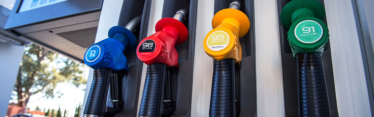 Fill up with Unleaded, Leaded or Diesel Fuel | OTR - On The Run